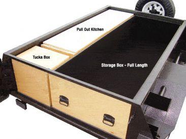 Challenge Camper Trailers Pty Ltd Kitchens And Storage